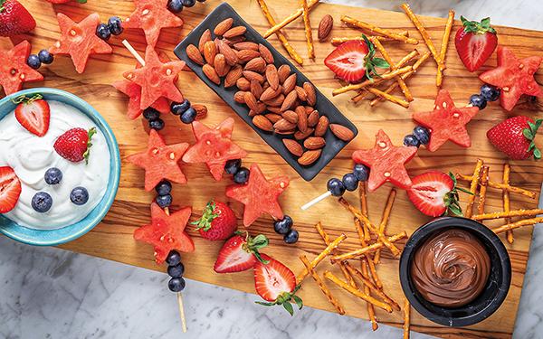 Bountiful Grazing Boards Fruit & Sweet Treat
