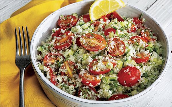 "Cauliflower ""Rice""<br /> Tabbouleh Salad"