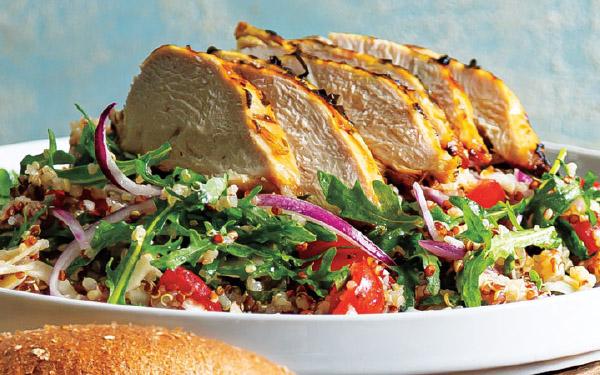 Grilled Italian Chicken Grain Salad