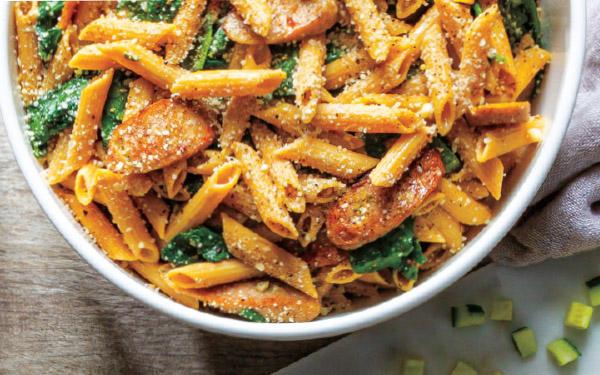 Italian Chicken Sausage Pasta