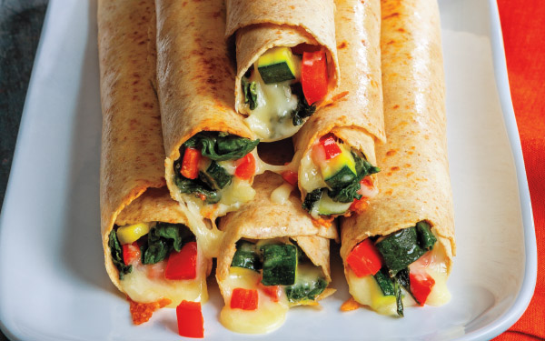 """Pizza """"Taquitos"""" with Tomato Dipping Sauce"""