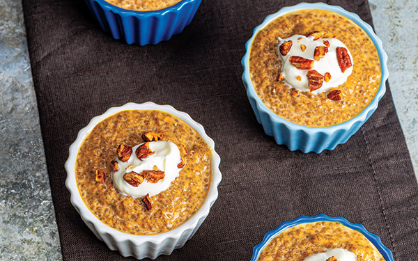 Pumpkin Pie-Chia Pudding