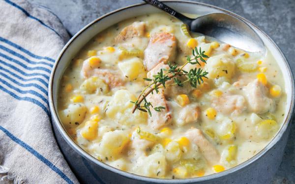 Turkey-Corn Chowder